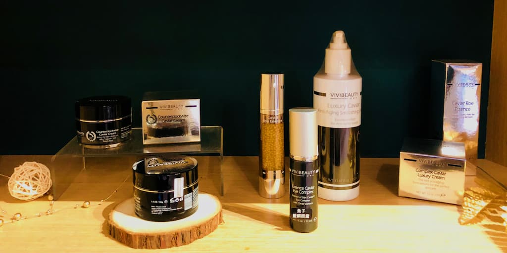 VIVISPA產品: 身體系列、臉部系列