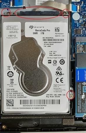 24 Lenovo Y530 HDD