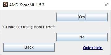 02- AMD StoreMI cfg boot drive ttpe