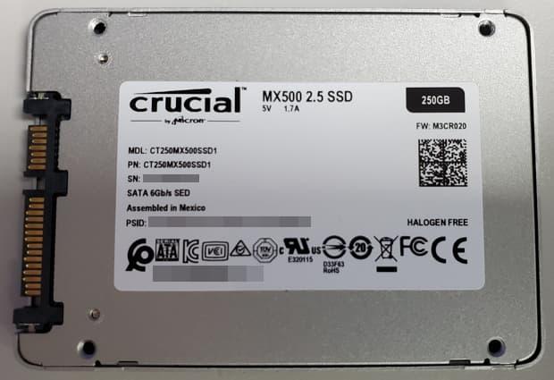 02- MX500 基本資料