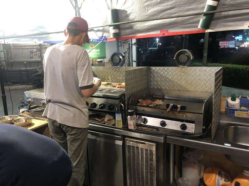 05_ 台南燒烤 棚燒烤 煎盤