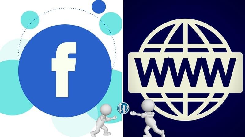 01- 粉絲專頁 真的無法取代公司網站嗎 facebook vs wordpress