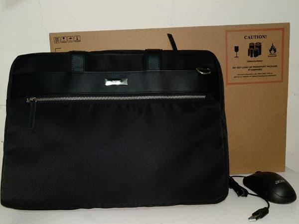 01 雙碟機 Acer Swift 5 SF514-52T 滑鼠 背包