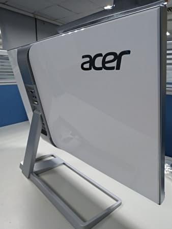 06 Acer 4K螢幕 S277HK 27型 IPS 4K2K 無邊框電腦螢幕 背面