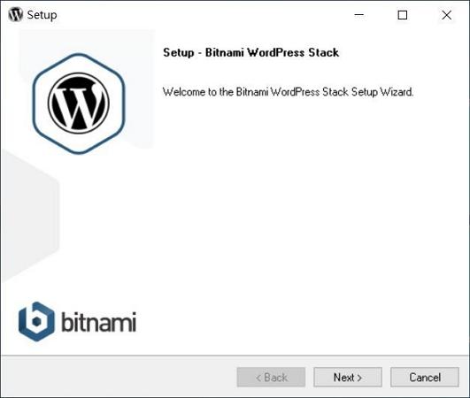 06 Bitnami WordPress installing step 2