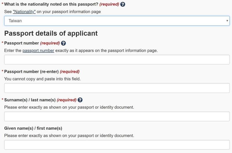 06 eTA 申請- 加拿大電子旅行證(Electronic Travel Authorization)