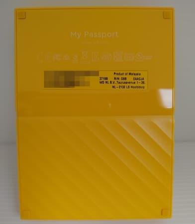 07 WD My Passport 4TB 2.5吋行動硬碟 行動硬碟的外殼