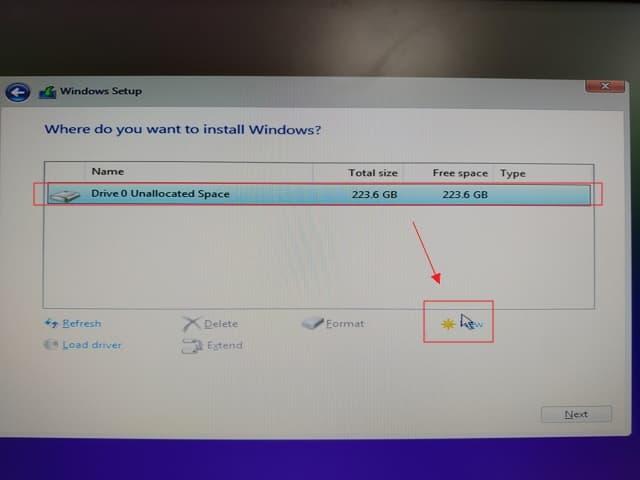07_ SSD 4K 對齊 UEFI install win10 (1)