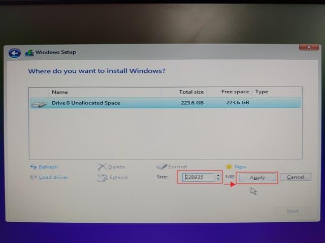 08_ SSD 4K 對齊 UEFI install win10 (2)