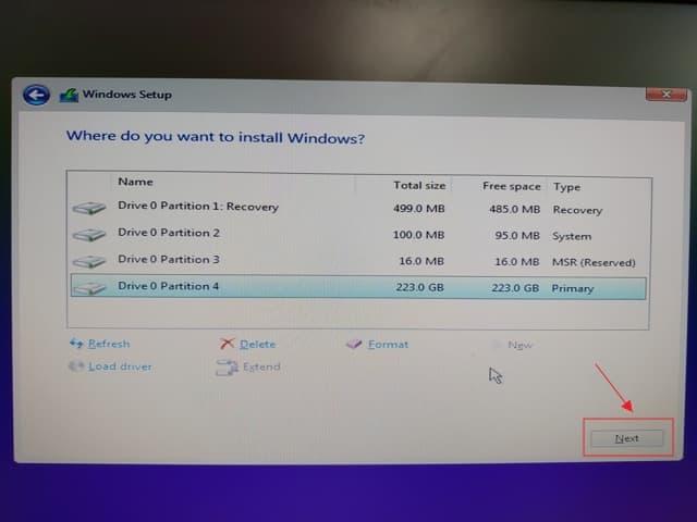 09_ SSD 4K 對齊 UEFI install win10 (4)