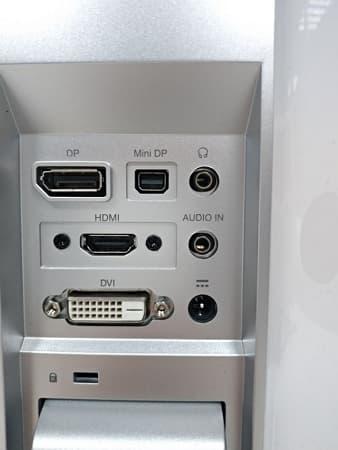 10 Acer 4K螢幕 S277HK 27型 IPS 4K2K 無邊框電腦螢幕 輸入端子