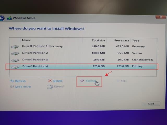 10_ SSD 4K 對齊 UEFI install win10 (5)