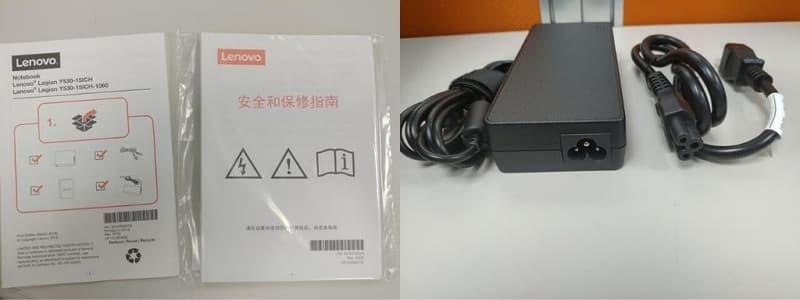 13-14 Lenovo Y530 開箱 說明書