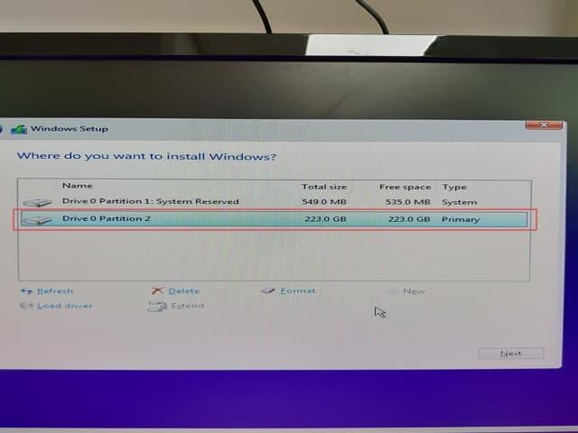 15_ SSD 4K 對齊 Legacy install win10