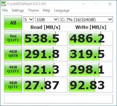 26_ Kingston SUV400S37240G CSM enable CrystalDiskMark  performance