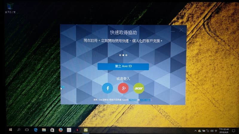 32 Acer E5 475G Windows 10 重灌完成
