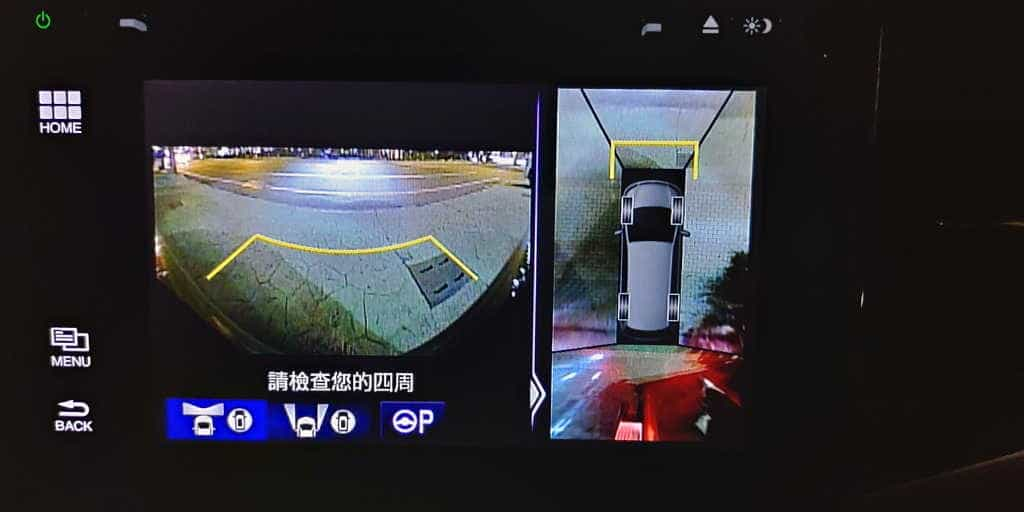 05 Honda Odyssey 360度環景影像輔助系統 1024x512
