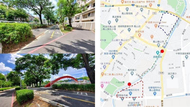 06_ 自行車道 高雄鳳山溪路線,親子夢時代一日遊 (4)