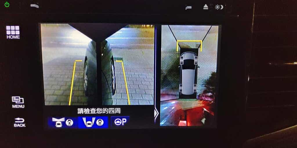 10 Honda Odyssey 360度環景影像輔助系統 1024x512
