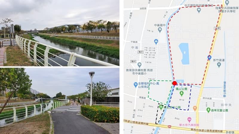 13_ 自行車道 高雄鳳山溪路線,親子夢時代一日遊 (11)