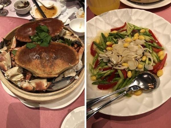 2019 VIVISPA 春酒現場 晚餐餐點 海鮮