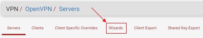 11 openvpn wizards
