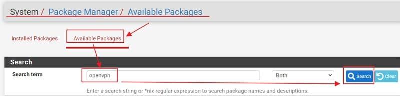 21 安裝 OpenVPN Client Export Package