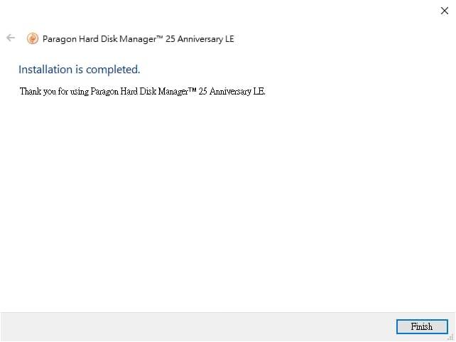 U0716-07-Paragon-Hard-Disk-Manager-installation-finish-installation